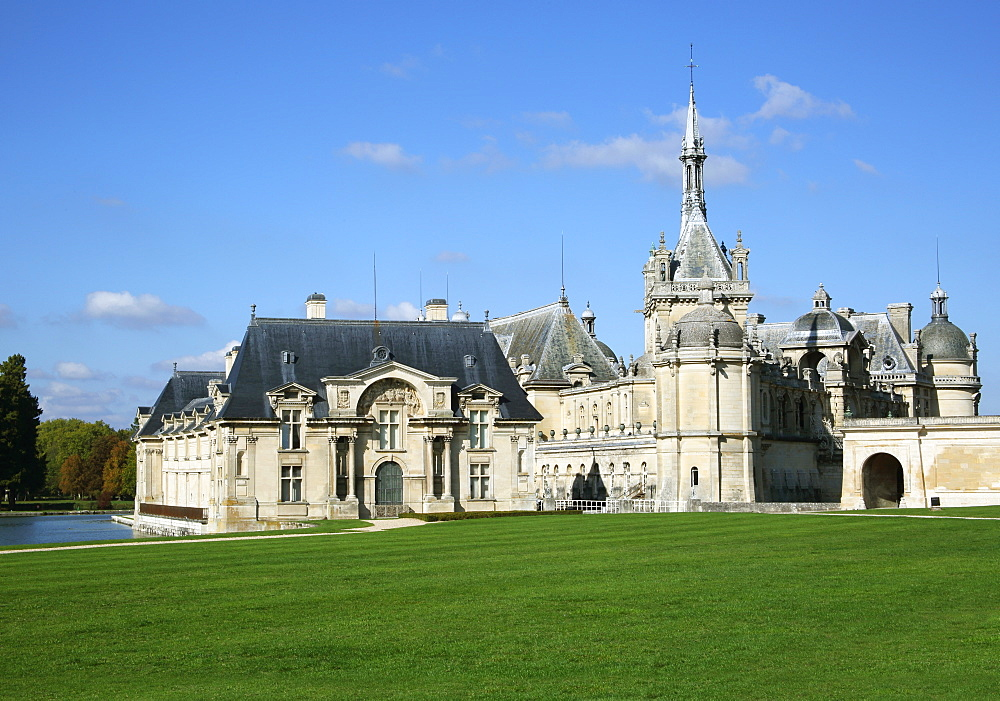 Chateau Chantilly, Chantilly, Oise, France, Europe - 1191-52