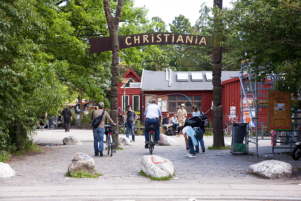 Christiania in Copenhagen