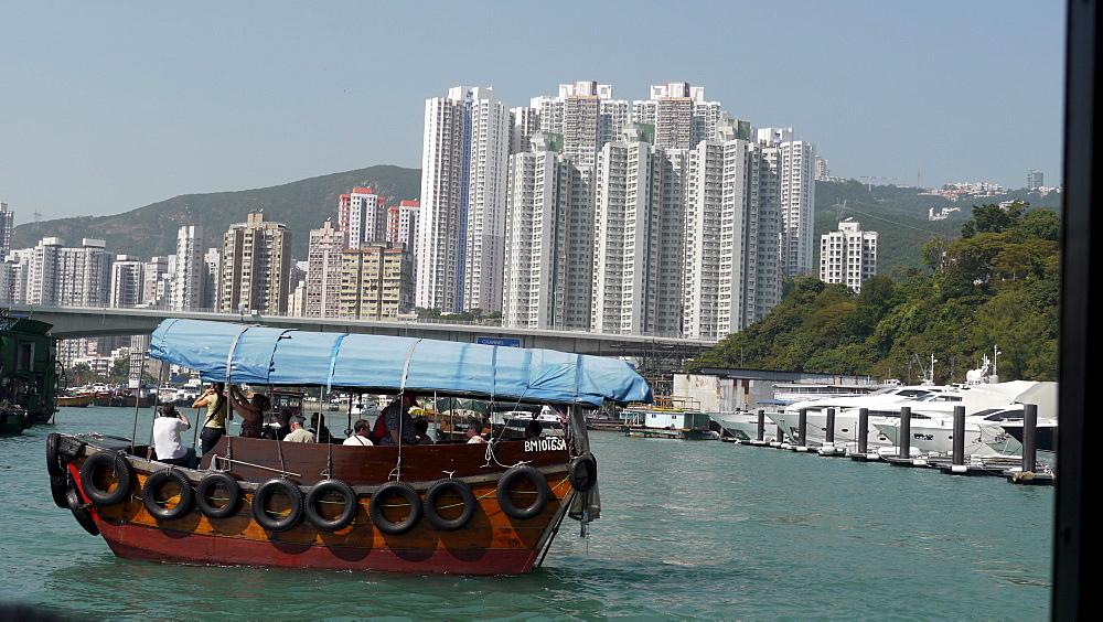 HONG KONG Aberdeen harbour. photo by Sean Sprague