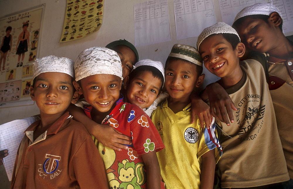 Thailand burmese muslim refugee school at mae sot