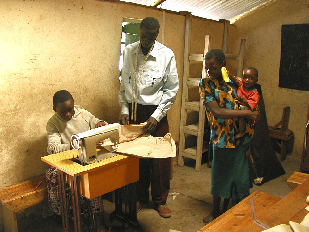 Kenya catholic lay missionaries orphan vocational training. Korogocha, nairobi