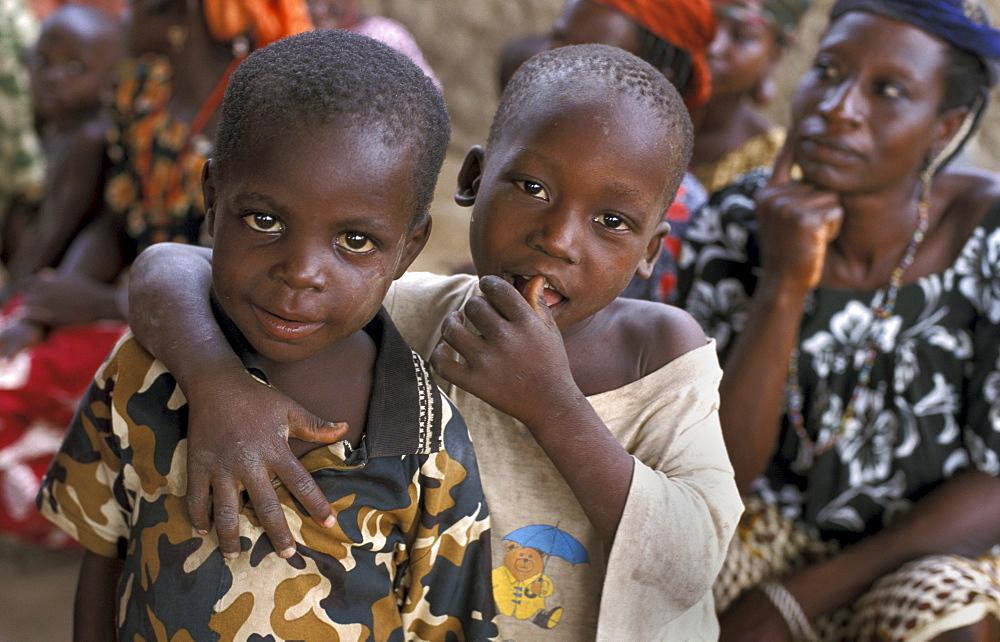 Benin children of bembereke