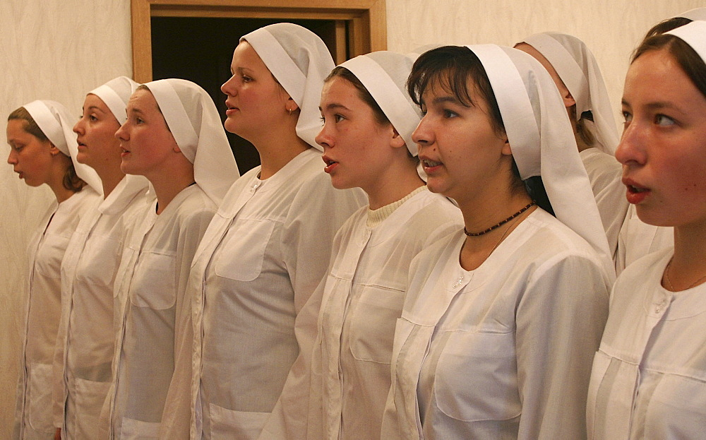 Russia trainee nurses and novice at a medical training school involvement by & martha convent moscow