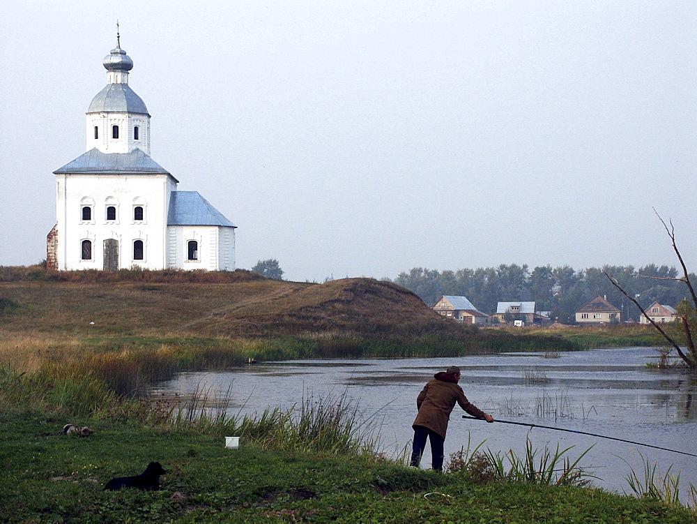 Russia landscape suzdal