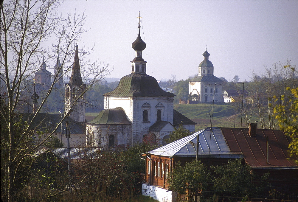 Russia landscape at suzdal