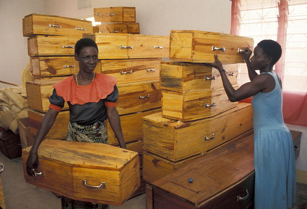 Tanzania coffin manufacturer, musoma.