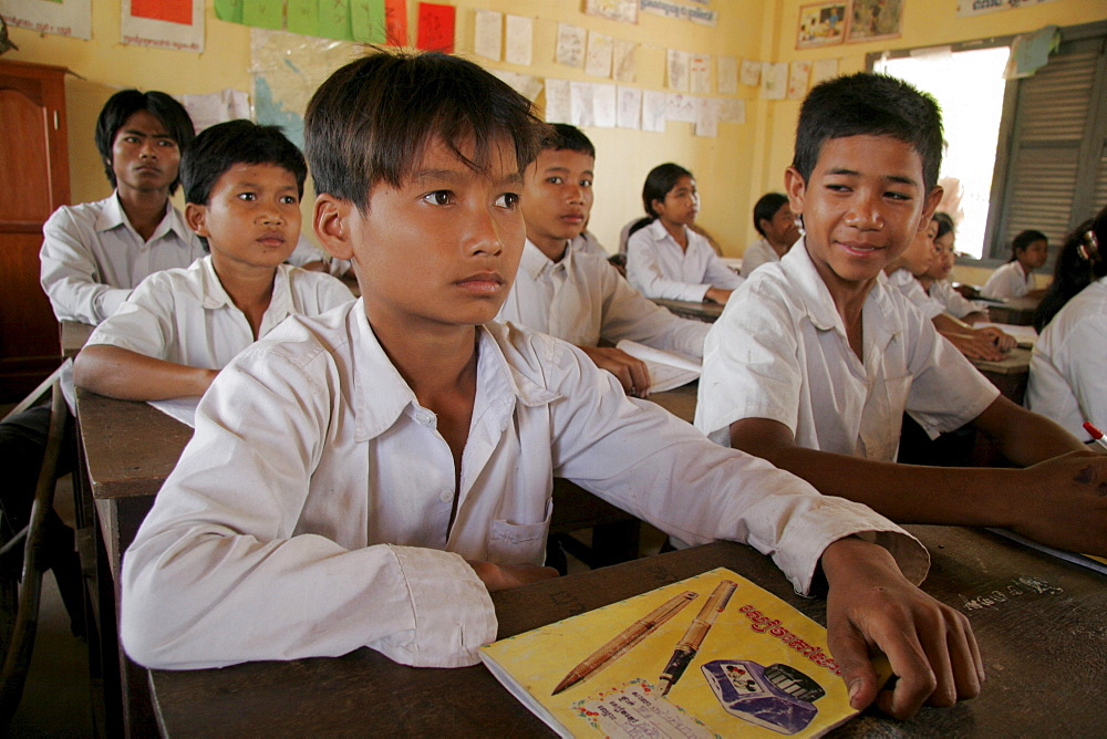 Cambodia ang chun primary school, kampot province.