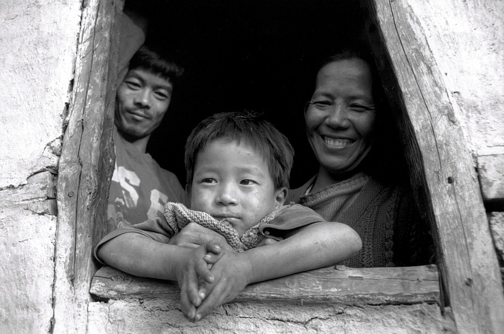 Family nepali immigrant family kalimpong, indi