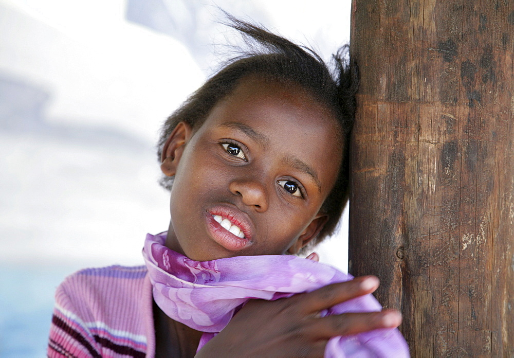 Namibia child at bernard nordkamp (youth) center, katatura, a black township of windhoek, dating from apartheid