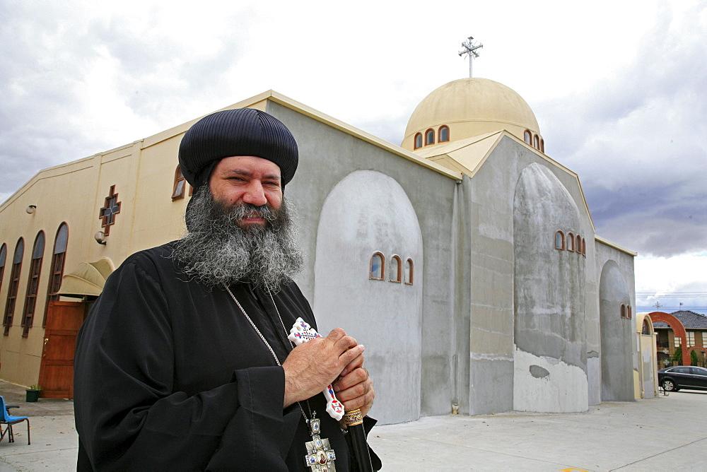 Australia. Amba suriel, coptic orthodox bishop of melbourne