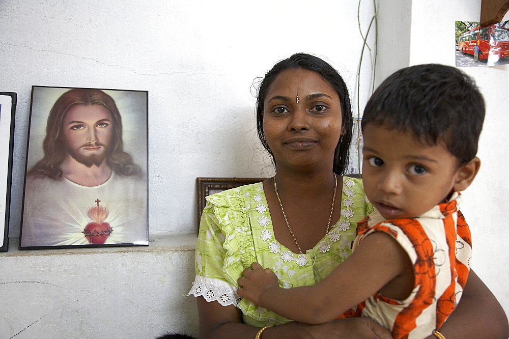 India. Small house of michael and jophy jaison. House building project funded by social services department of ernakulum diocese by father jose thottakara, kerala. 2007
