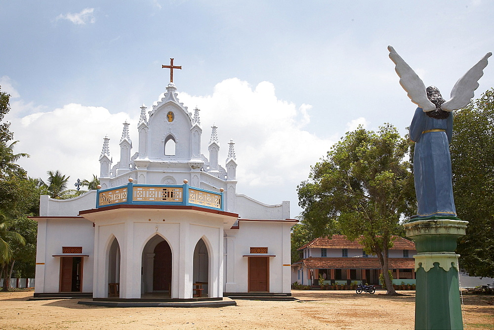 India. Kokkamamngalam syro-malabar catholic church, one of the 8 said to have been founded by saint thomas, as it is today, constructed in the 19th century. In the footsteps of saint thomas: visiting the eight churches founded by the apostle in kerala after he arrived in 52 ad