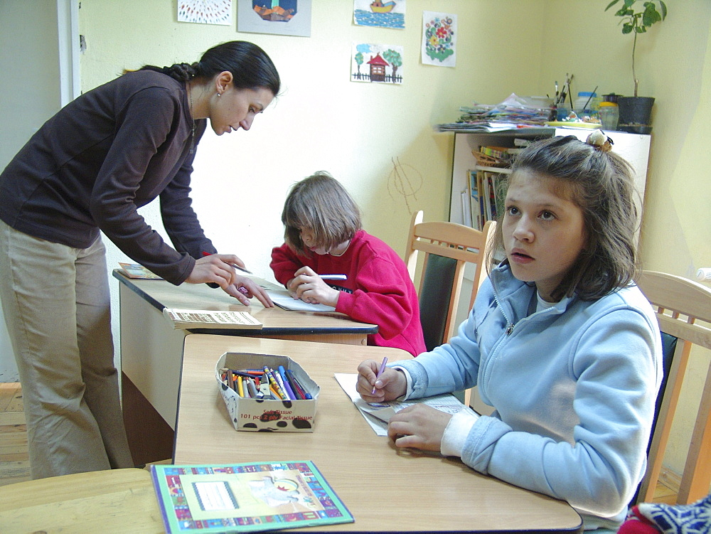 Healthcare, bulgaria. Day care centre for children with special needs, sofia
