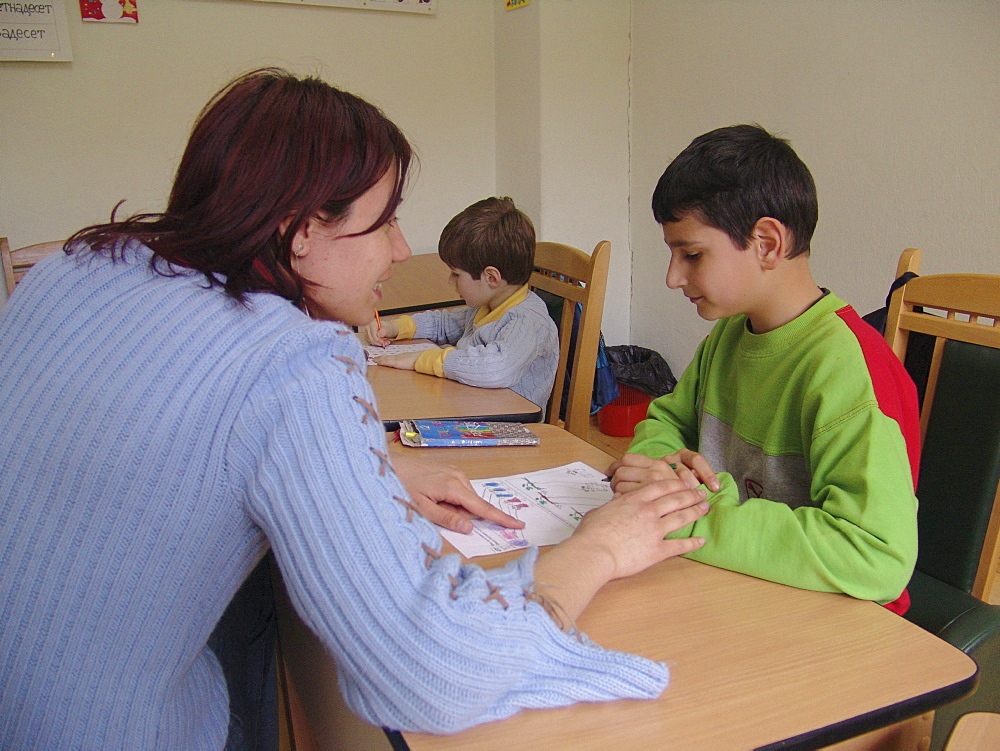 Disability, bulgaria. Day care centre for children with special needs, sofia