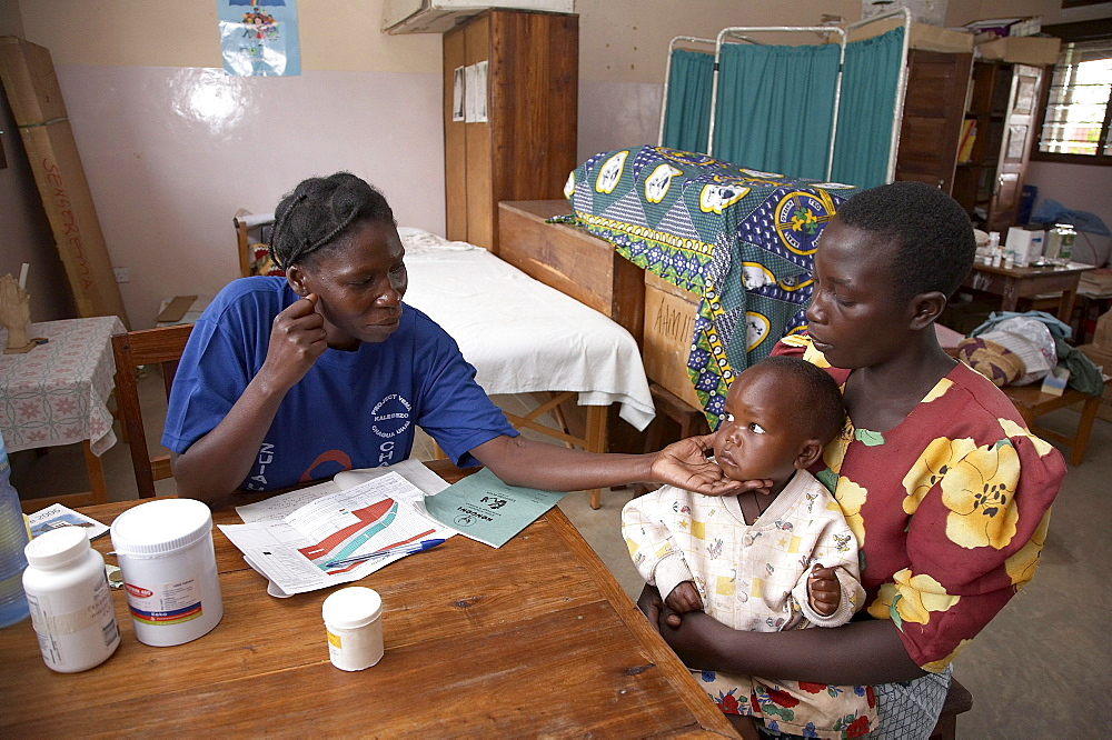 Tanzania mother child clinic, kalabezo