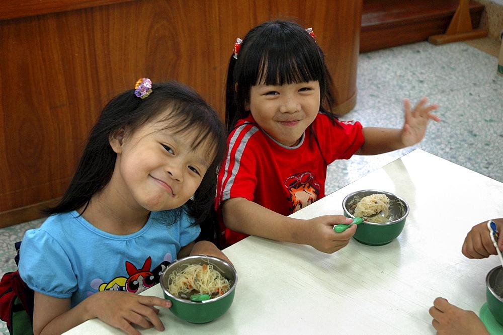 Education, taiwan. A catholic primary school, taichung