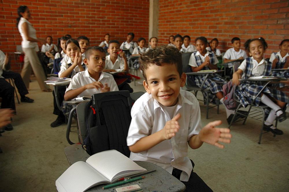 Colombia a primary school in barrancabermeja