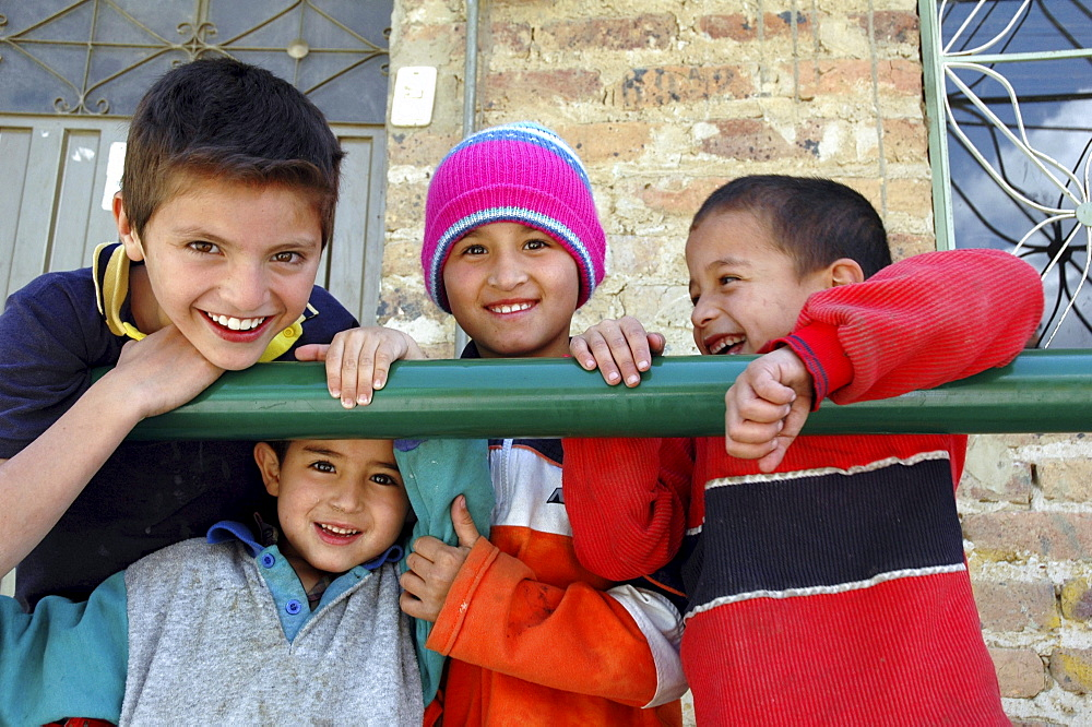 Colombia children of ciudad bolivar, bogota