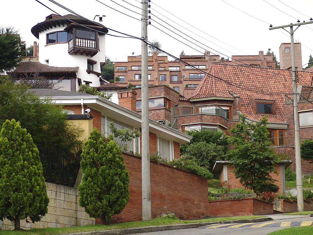 Colombia luxury housing of the super rich in north bogota