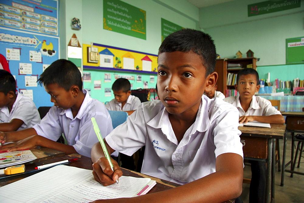 Thailand primary school near pattani