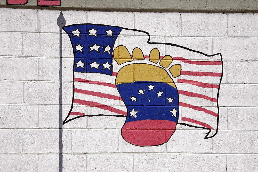 Venezuela political graffiti, barquisimeto