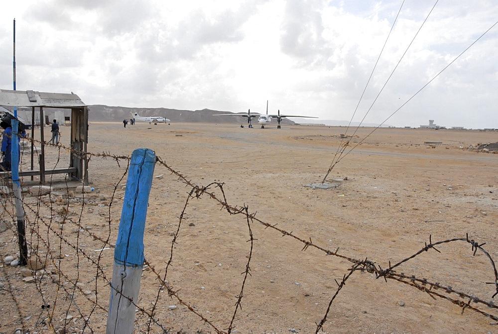 Bossaso airport, somalia