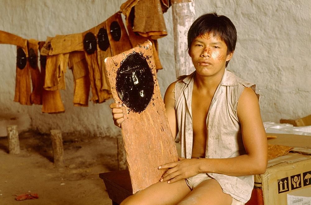 Colombian shaman,