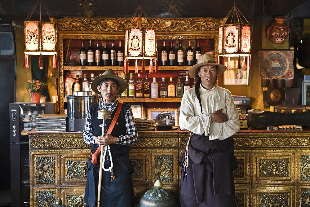 Makeye Ame, Tibetan style restaurant. Lhasa, Tibet, China, Asia - 1196-283
