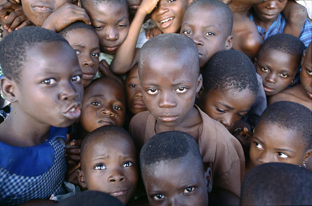 Yaruba kids, nigeria, afric