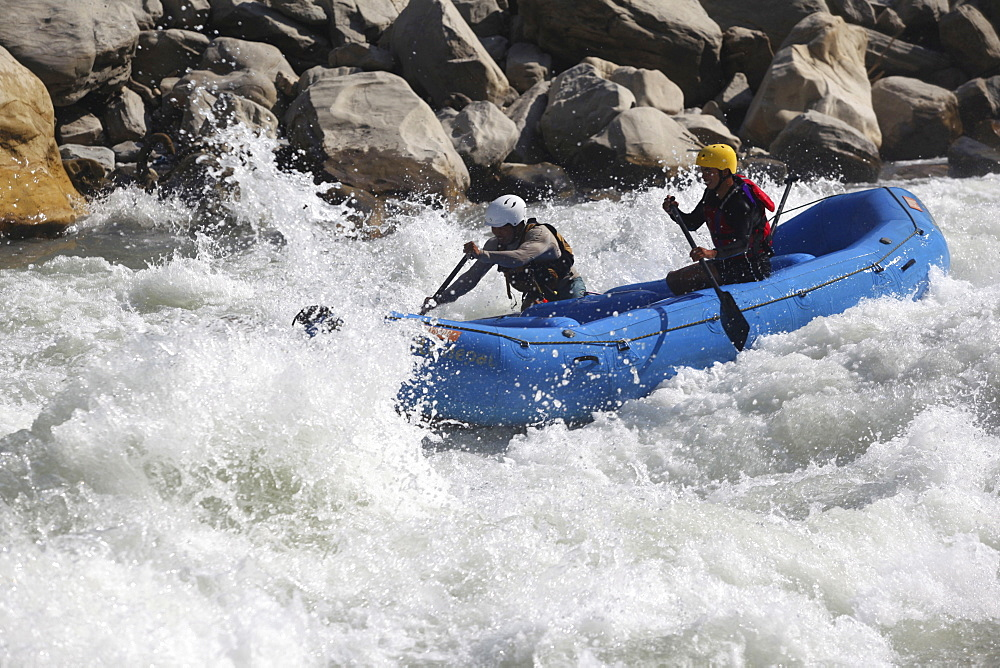 White Water rafting. Trisuli, Nepal