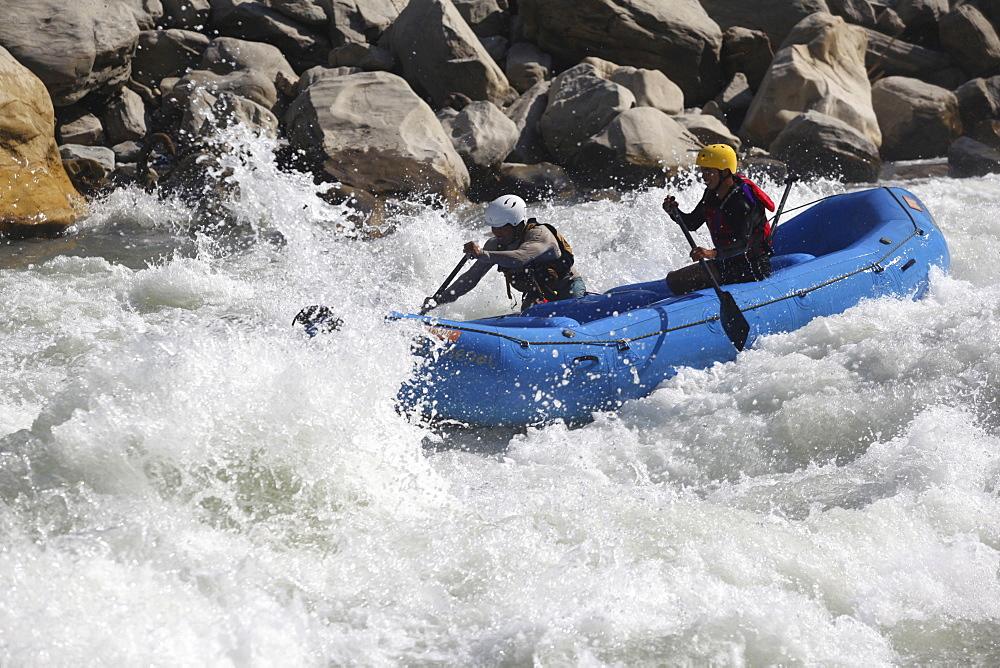 White Water rafting. Trisuli, Nepal