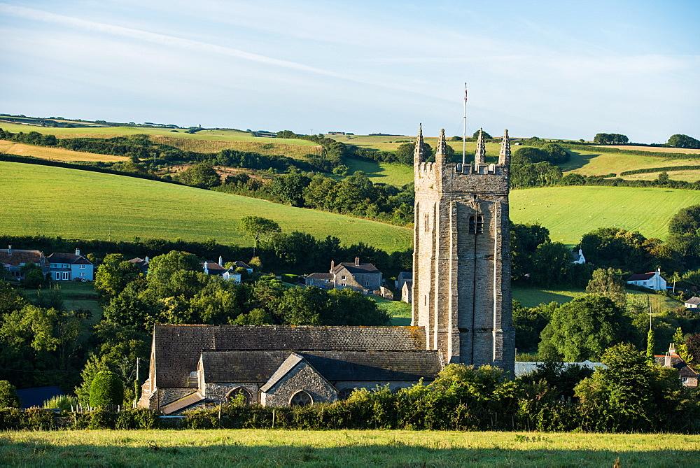 Church of St. Nicholas and St. Cyriac, South Pool, Devon, England, United Kingdom, Europe