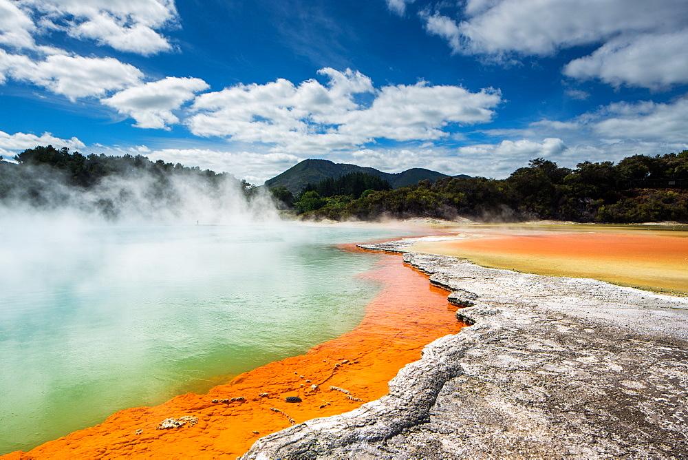 Wai-O-Tapu, Rotorua, North Island, New Zealand, Pacific