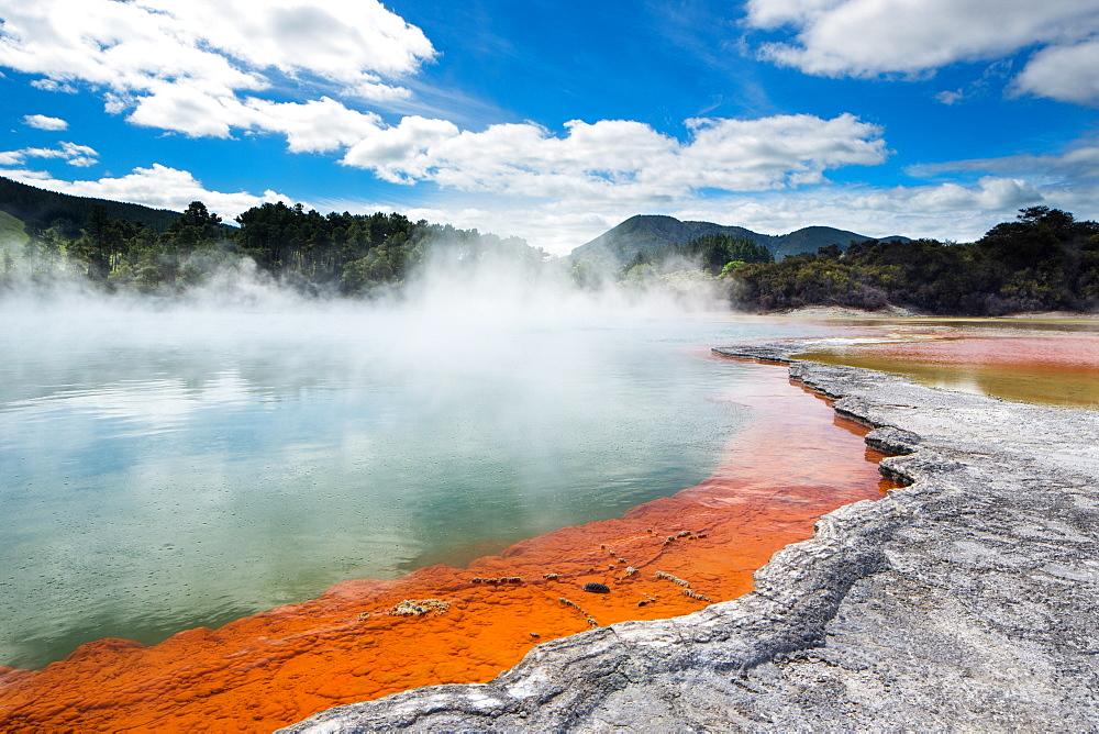 Wai-O-Tapu Thermal Wonderland, Rotorua, North Island New Zealand, Pacific