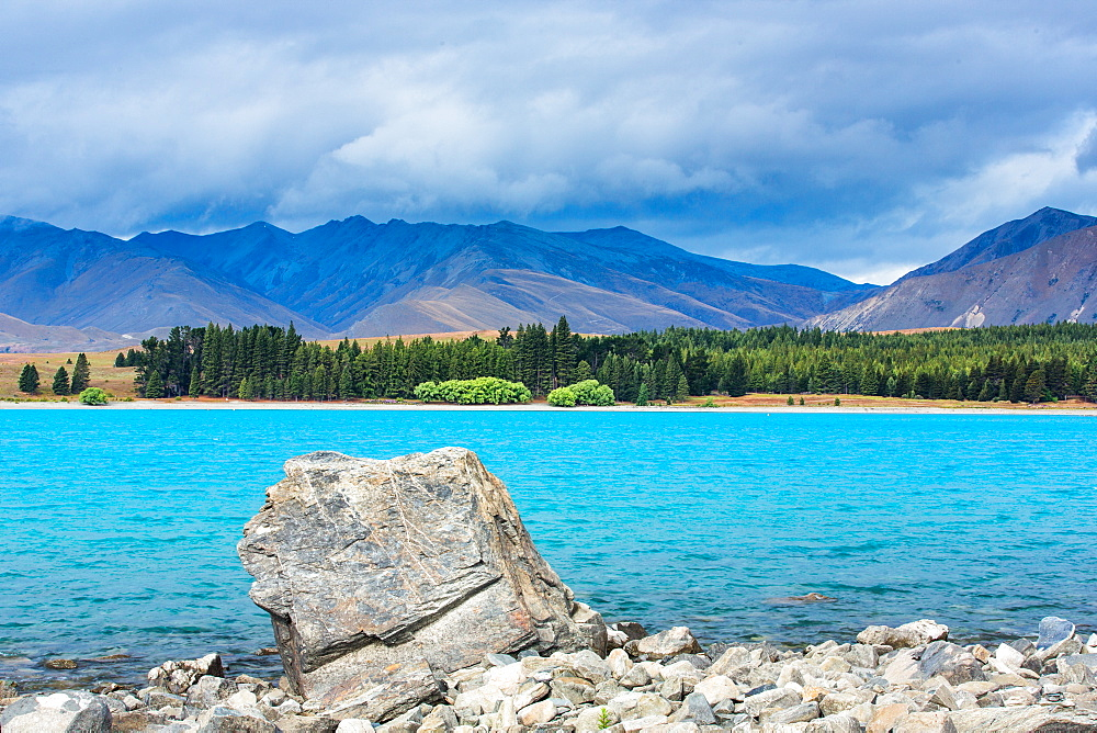 Lake Tekapo, Canterbury Region, South Island, New Zealand, Pacific