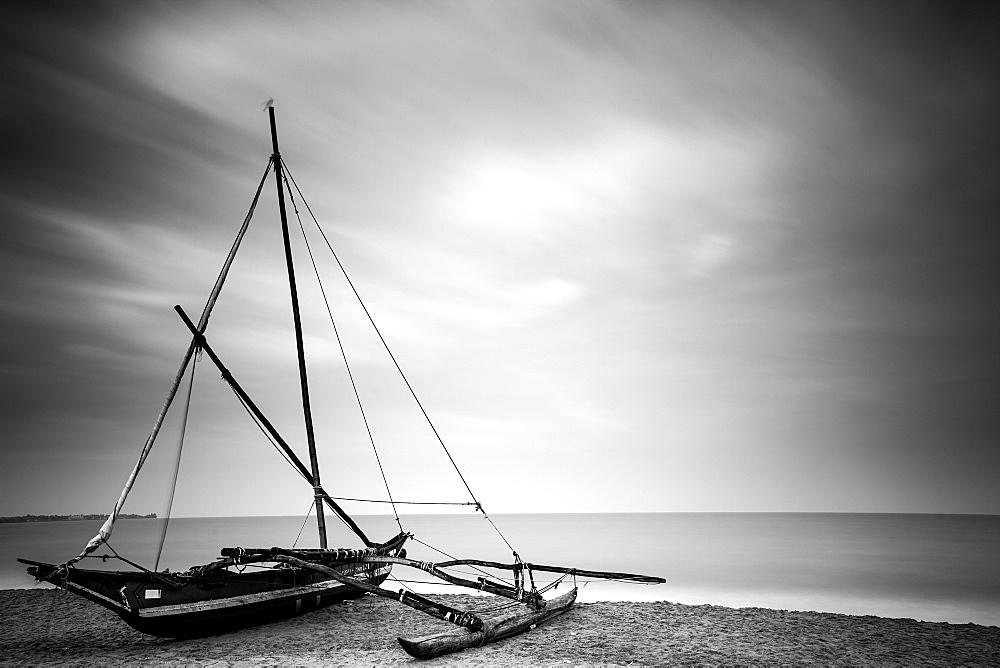 Fishing boat, Negombo, Sri Lanka, Asia