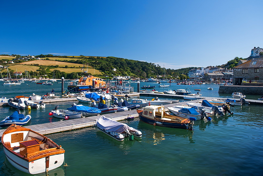 Marine Quay, Salcombe, Devon, England, United Kingdom, Europe