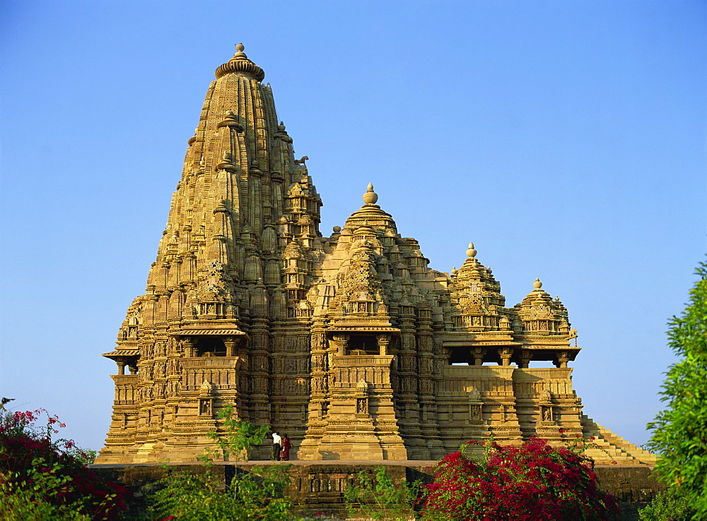 Kandariya Mahadev Temple, Western Group, Khajuraho, UNESCO World Heritage Site, Madhya Pradesh state, India, Asia - 120-3981