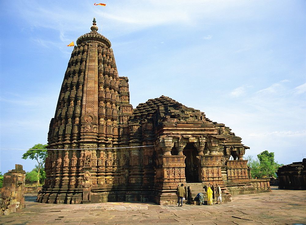 Nilkanthesvara (Udayeshvara) Temple, dating from the Paramara period in 11th century, Udayapur, Madhya Pradesh state, India, Asia - 120-4093