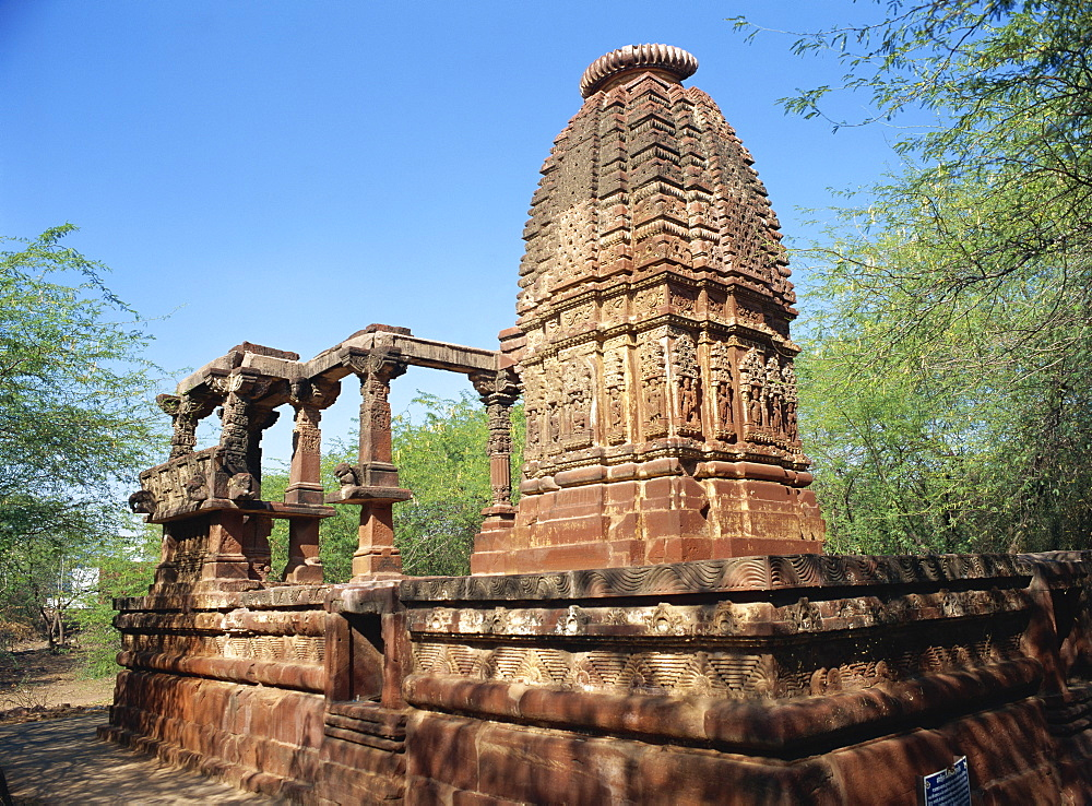 Surya Temple dating from the 8th century, Osian, Rajasthan state, India, Asia - 120-4122