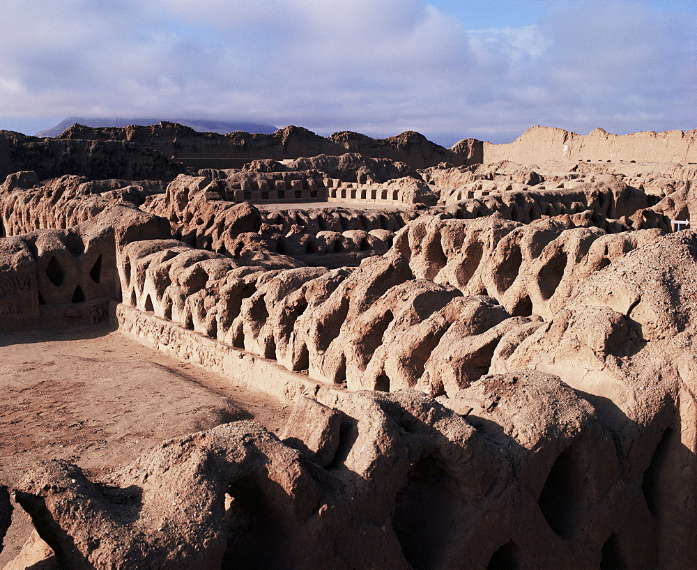 Chan Chan, UNESCO World Heritage Site, Peru, South America