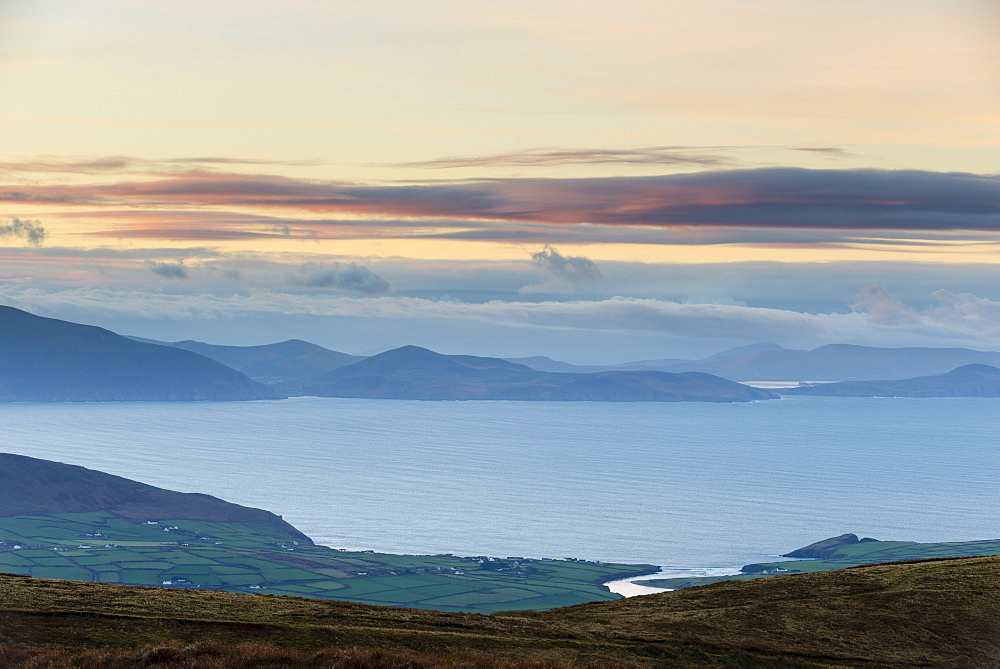 Dingle Peninsula at dawn, County Kerry, Munster, Republic of Ireland, Europe