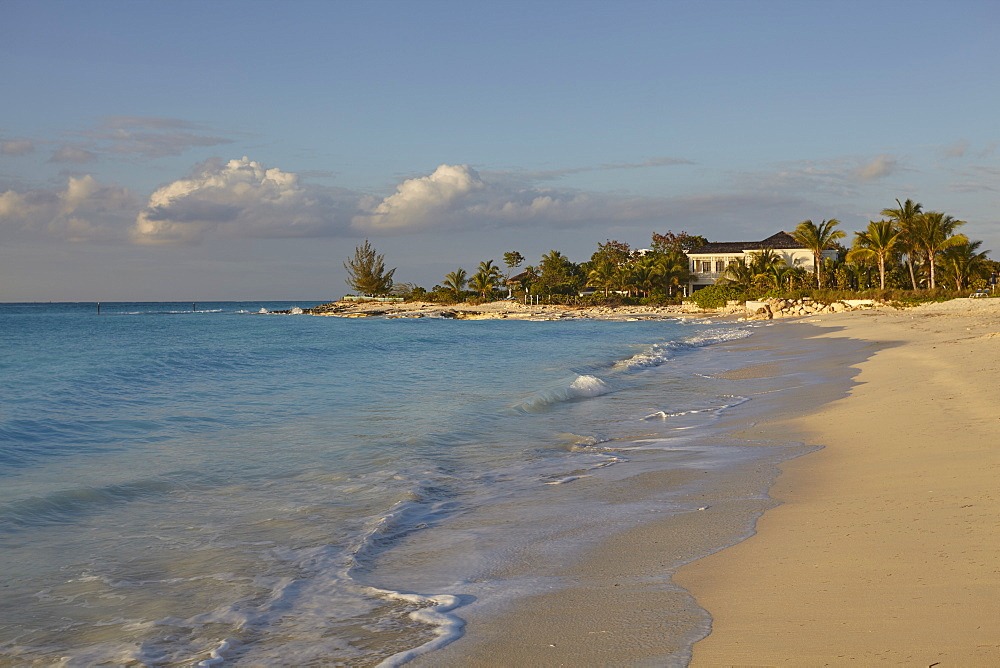 Leeward Beach, Leeward, at the northern tip of Providenciales, Turks and Caicos, in the Caribbean, West Indies, Central America - 1202-156
