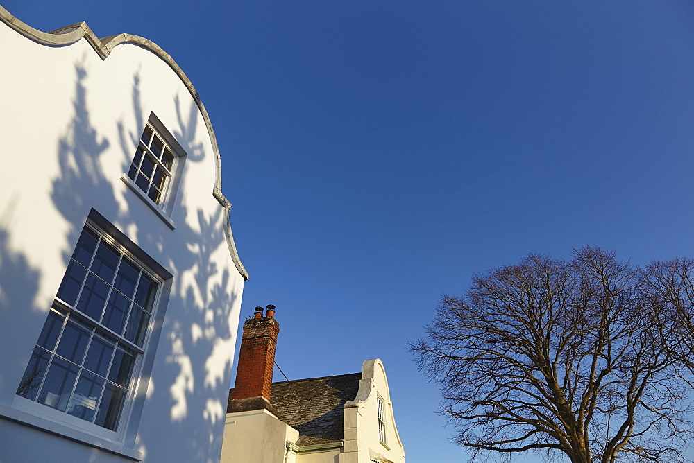 Historic 17th century Dutch architecture in Topsham, near Exeter, Devon, England, United Kingdom, Europe