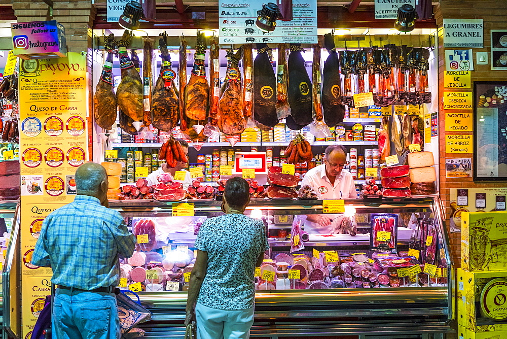 Triana Market, Triana district, Seville, Andalusia, Spain, Europe - 1207-243