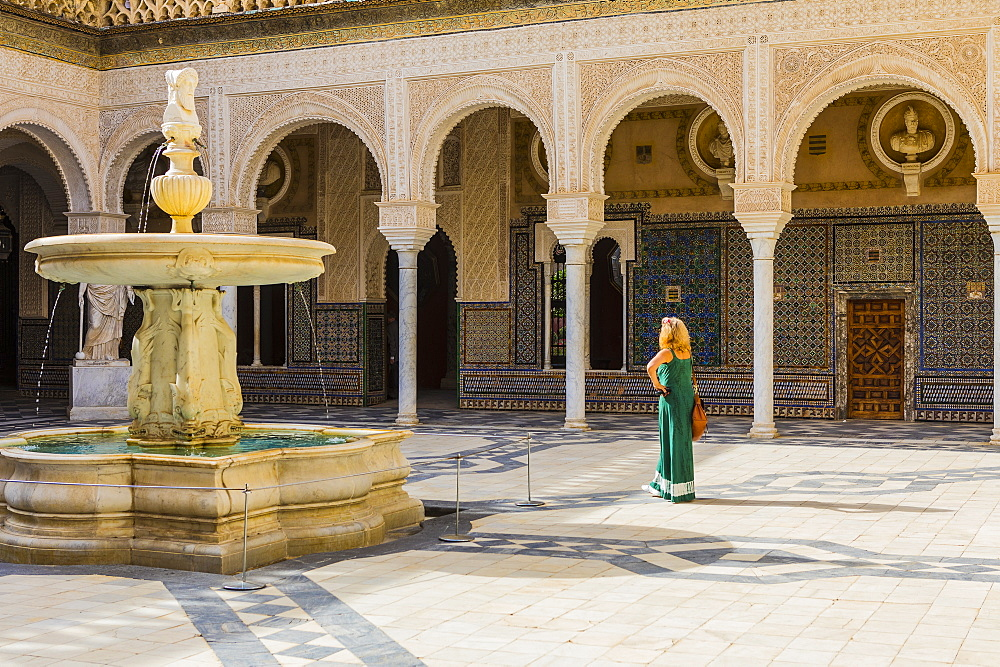 Casa de Pilatos (Pilate's Palace), Seville, Andalucia, Spain, Europe - 1207-247