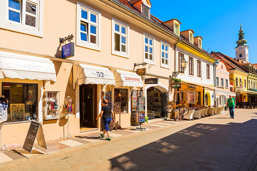 Tkalčićeva Street, Zagreb, Croatia, Europe - 1207-253