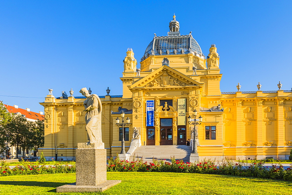 Art Pavilion, Zagreb, Croatia, Europe - 1207-264