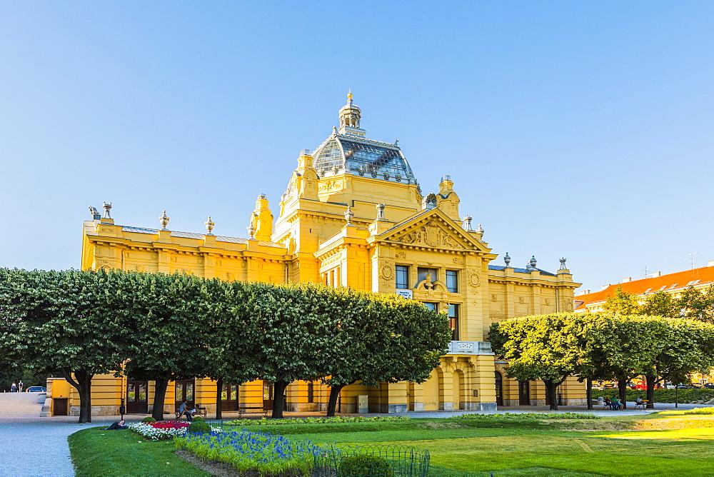 Art Pavilion, Zagreb, Croatia, Europe - 1207-266