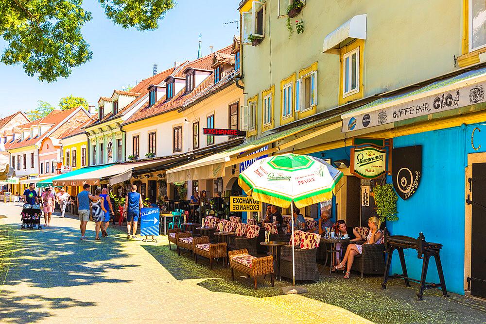 Tkalčićeva Street, Zagreb, Croatia, Europe - 1207-286